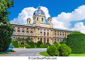 Museum of Art History in Vienna, Austria - Scenic summer...