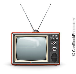 Old TV - Creative abstract communication media and...