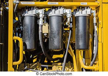 hydraulics - system hydraulic drive mechanism