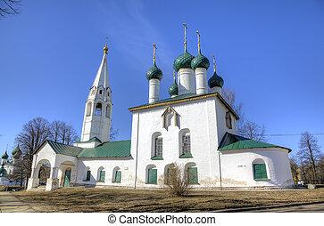 St Nicholas church Yaroslavl, Russia