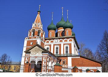 Archangel Michael church Yaroslavl, Russia
