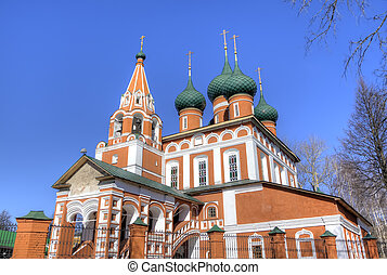 Archangel Michael church Yaroslavl, Russia
