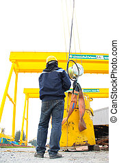 uprisen angle of industry - This is experimental lifting...