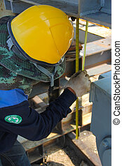 manual measure - Atmosphere in the construction and...