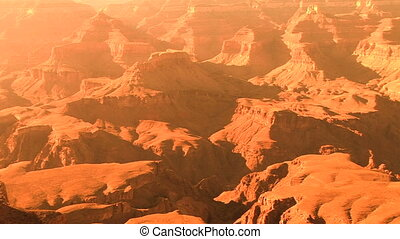 Grand Canyon National Park, South Rim, pan