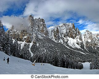 vigo di fassa a very beautiful place in italy