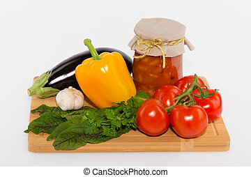 vegetables canning - the ingredients for canning vegetables...