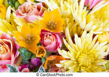 Amazing close up of a flower bouque - Amazing bunch of...
