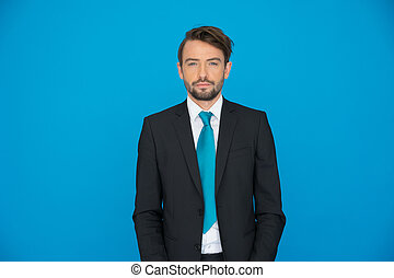 handsome young business man