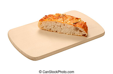 Focaccia Board isolated