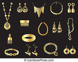 Jewelry - Gold jewelry