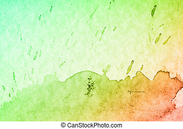 Abstract background Water color background