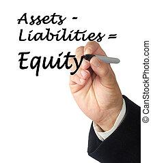 equidad, ecuación