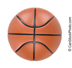 Ball - Basketball ball isolated on white Clipping path
