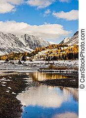 Banffs Alpine Wilderness in Fall