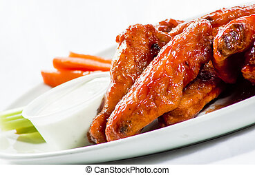 Saucy Restaurant Hot Wings