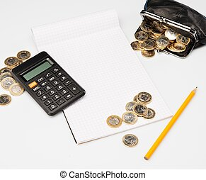 Expenses counting process concept