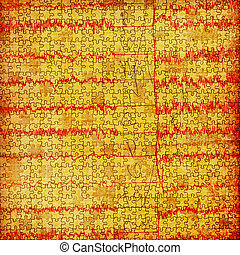 Grunge abstract paper background with old diagram