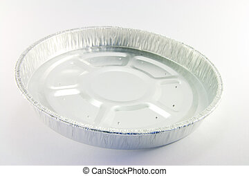 1 round high sided catering tray