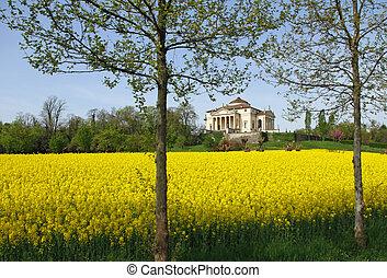 magnifico, palladian, villa, chiamato, la, ROTONDA,...