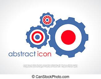 Gear icon - Gear vector icon