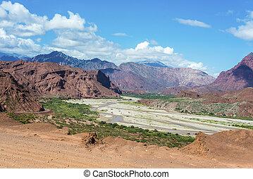 Quebrada de las Conchas, Salta, northern Argentina -...