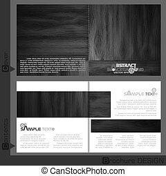 Brochure Template Design.  Vector Illustration. Eps 10.