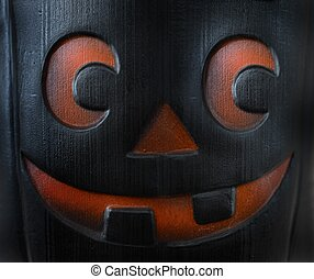 Halloween - An abstract image of a halloween mask