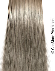 Blonde Hair Perfect Straight - A perfect symmetrical view of...