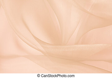rose transparent silk - the background of light transparent...