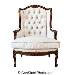 White Armchair