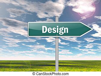 Highway Signpost Design