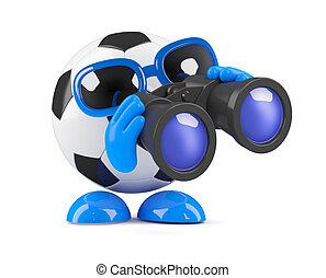 3d Football spy