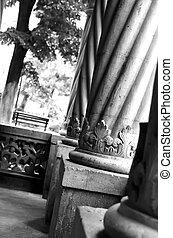 Columns mansion
