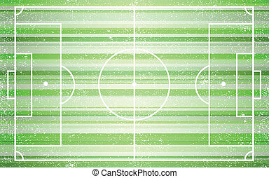 Football field Illustration 10 version