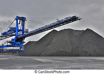 harvester for coal mining - great machine for coal mining...