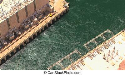 Colorado River and power generators - Colorado River,...