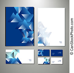 business set. Vector illustration - Abstract business set....