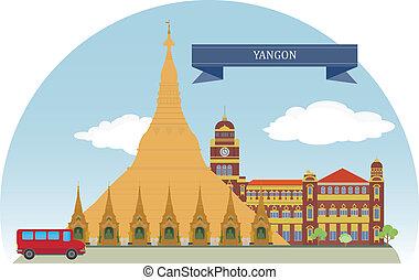 Yangon, Myanmar. For you design