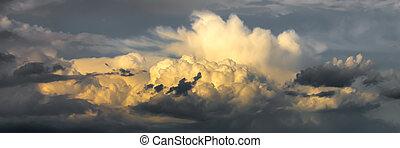 Rain clouds - Beautiful  summer rain clouds