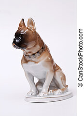 Pug Dog ceramic figurine - Pug Dog ceramic figurine,...