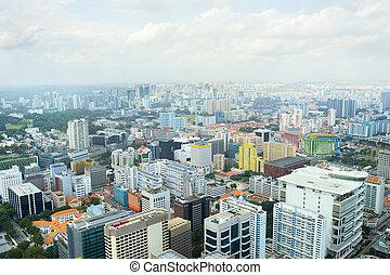 光景, 航空写真, シンガポール