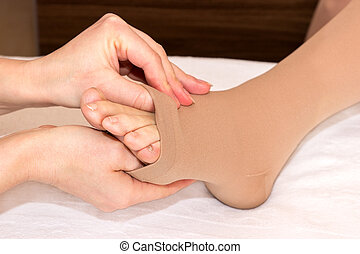 trombose, meias