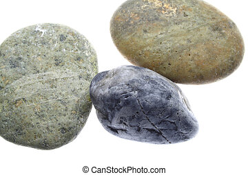 Colorful smooth stones - smooth and colorful rocks
