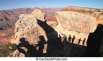 Grand Canyon Shadows, time lapse