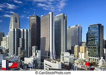 Shinjuku, Tokyo skyscraper district