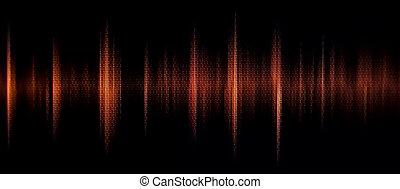 waveform - red waveform