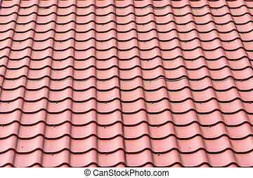 Roof Shingles Tiles - House Shingles Tiles On A Roof Closeup