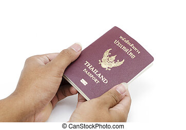 人, 圖像, 藏品, 護照, 手