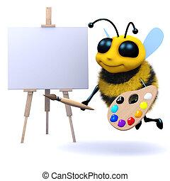 3d Artist bee